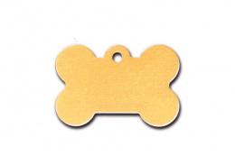 Medaljons – Bone Large Mustard
