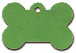 Medaljons – Bone Large Green