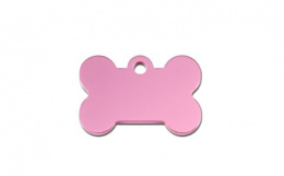 Медальон - Bone Large Pink