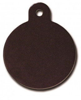 Medaljons - Circle Large Black