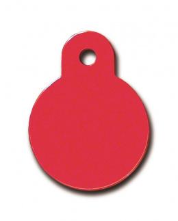 Medaljons - Circle Small Red