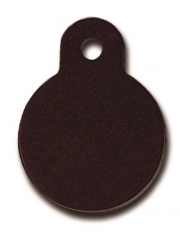 Медальон - Circle Small Black
