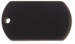 Медальон - Military Tag, Черный