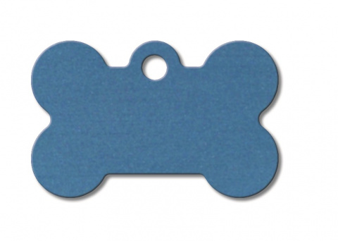 Медальон - Small Bone Dark Blue title=