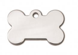 Медальон - Bone Small Chrome