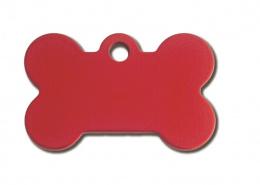 Medaljons – Small Bone Red