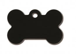 Medaljons – Bone Small Black