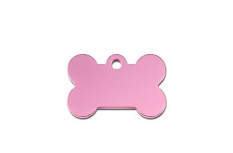Medaljons – Bone Small Pink title=