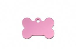 Медальон - Bone Small Pink