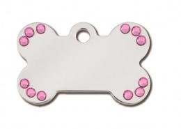 Медальон - Small Bone Diva, с кристаллами