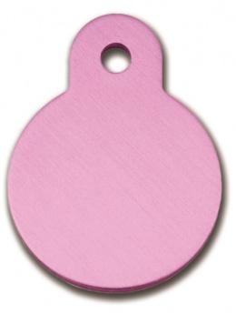 Медальон - Circle Small Pink