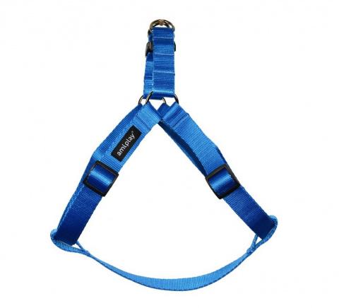 Krūšu siksna - AmiPlay Adjustable Harness Basic S, 20-35*1cm, krāsa - zila title=