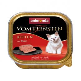 Konservi kaķiem – Vom Feinsten Kitten Meat meal, 100 g