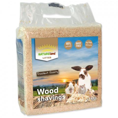 Skaidas - NL Wood shavings 15 l / 0,9 kg title=