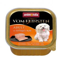 Konservi suņiem - Vom Feinsten Classic Poultry and Veal, 150 g