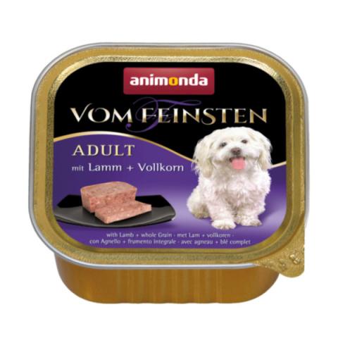 Konservi suņiem - Vom Feinsten Lamb and Whole Grain, 150 g title=