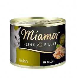 Konservi kaķiem - Miamor Filet, ar vistu, 185 g