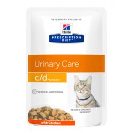Veterinārie konservi kaķiem - Hill's Feline c/d Multicare Chicken, 85 g