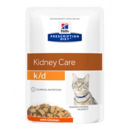 Ветеринарные консервы для кошек - Hill's Feline k/d Chicken, 85 г