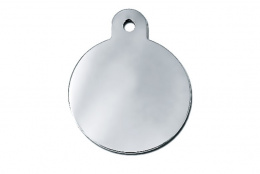 Medaljons - Circle Large Chrome