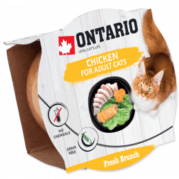 Консервы для кошек - Ontario Fresh Brunch Chicken, 80 г