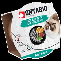 Konservi kaķiem – Ontario Fresh Brunch Fish, 80 g