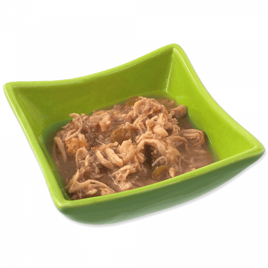Консервы для кошек - Ontario Fresh Brunch Chicken with Beef, 80 г