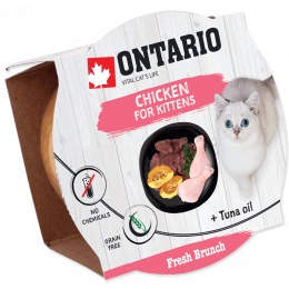Консервы для котят - Ontario Fresh Brunch Kitten Chicken, 80 г