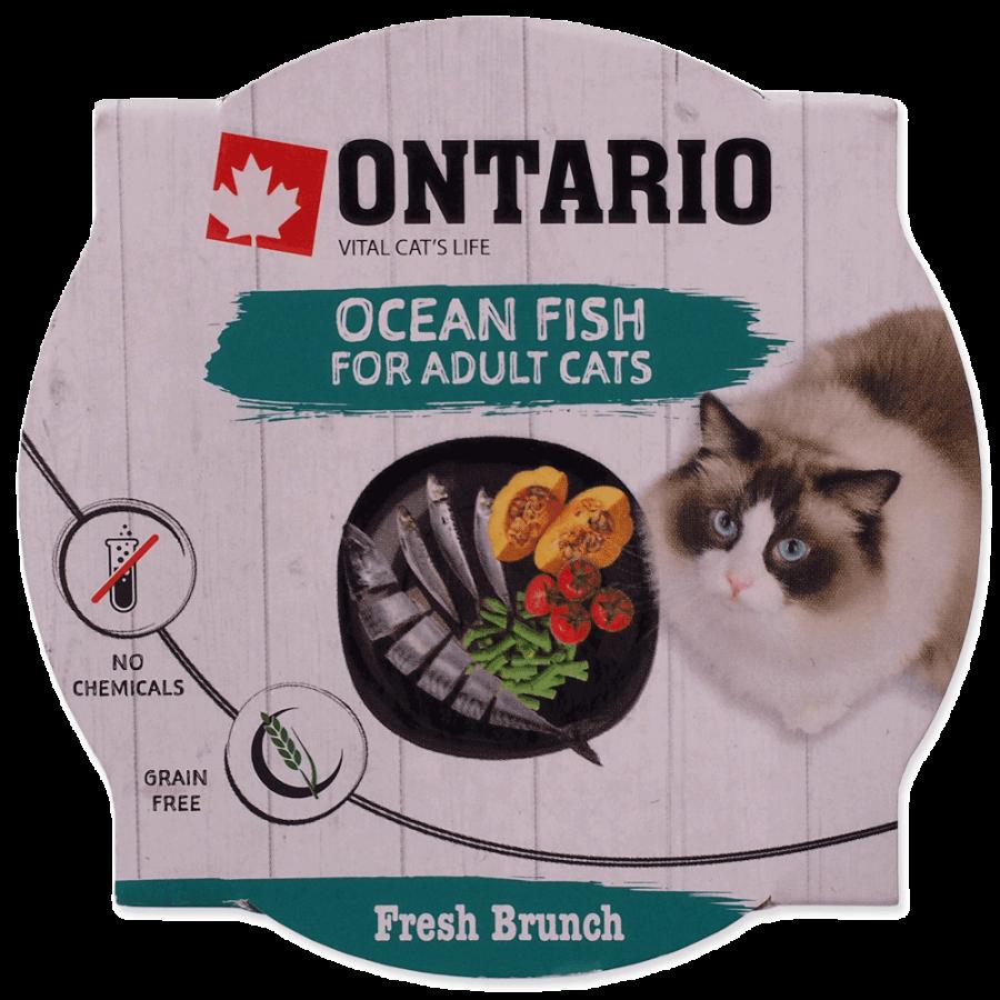 Консервы для кошек - Ontario Fresh Brunch Fish, 80 г