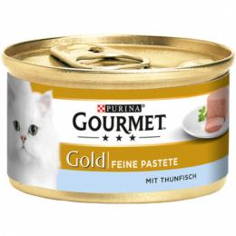 Konservi kaķiem - Gourmet Gold Pate with Tuna, 85 g