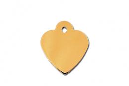 Medaljons – Small Heart Gold