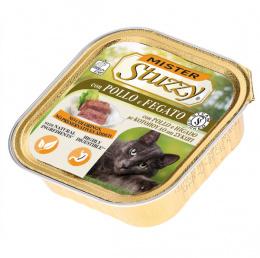 Konservi kaķiem - MISTER STUZZY Cat Chicken and Liver, 100 g