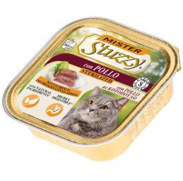 Konservi kaķiem - MISTER STUZZY Cat Sterilized Chicken, 100 g