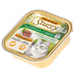 Консервы для кошек - MISTER STUZZY Cat Veal and Carrot, 100 г