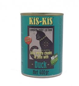 Консервы для кошек - Kis-Kis Grain Free, Duck, 400 г