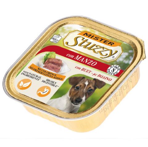Консервы для собак - MISTER STUZZY Dog Beef, 150 г title=