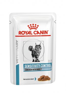 Veterinārie konservi kaķiem - Royal Canin VDC Sensitivity Control Feline Chicken, 100 g