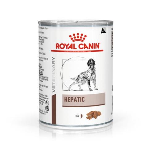 Veterinārie konservi suņiem - Royal Canin Veterinary Diet Hepatic Canine, 420 g title=