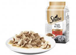 Консервы для кошек - Sheba Fresh and Fine, мясной микс, 6*50 гр