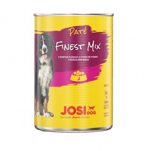 Консервы для собак - JosiDog Pate Finest Mix, 400 г title=