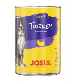 Konservi suņiem - JosiDog Pate Turkey, 400 g
