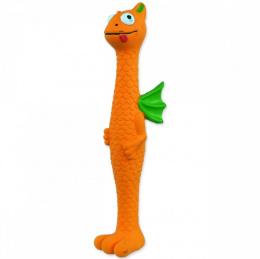 Rotaļlieta suņiem - Dog Fantasy Latex, dzīvnieks ar spārniem, dažādas krāsas, 25 cm