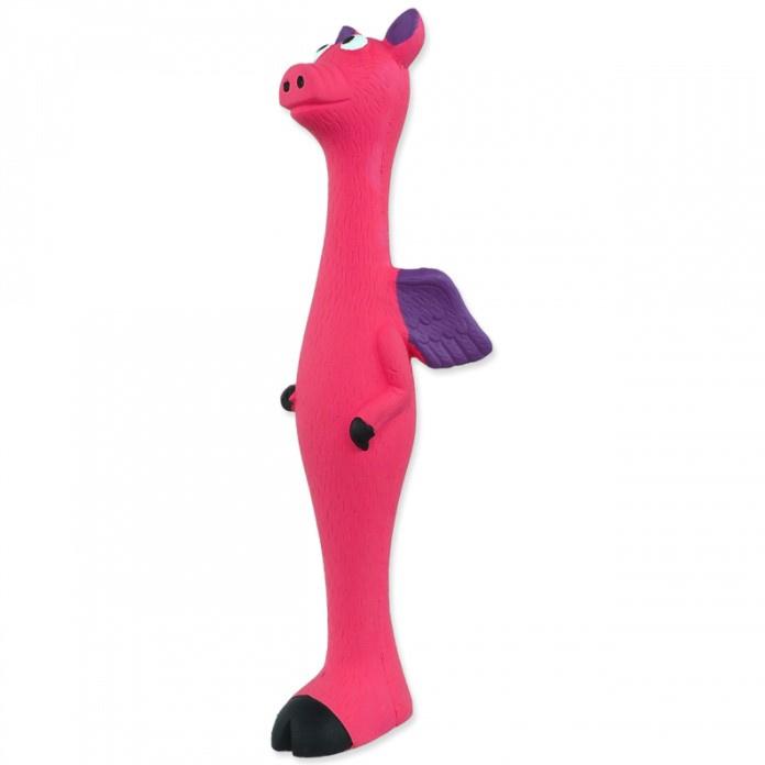 Игрушка для собак - Dog Fantasy Latex, животные с крыльями, разные цвета, 25 см