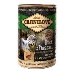 Konservi suņiem - CARNILOVE Wild Meat Duck and Pheasant, 400 g