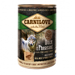 Консервы для собак - CARNILOVE Wild Meat Duck and Pheasant, 400 г