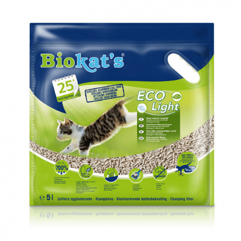 Песок для кошачьего туалета - Biokat's ECO Light, 5 л title=
