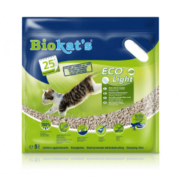Песок для кошачьего туалета - Biokat's ECO Light, 5 л