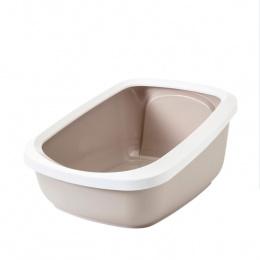 Туалет для кошек – Savic Aseo Jumbo, white-mokka, 67,5 x 48,5 x 28 см