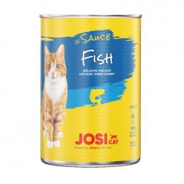 Консервы для кошек – JosiCat Fish in sauce, 415 г