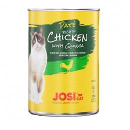 Консервы для кошек – JosiCat Chicken with quinoa, 400 г